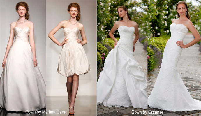 The Convertible Wedding Gown