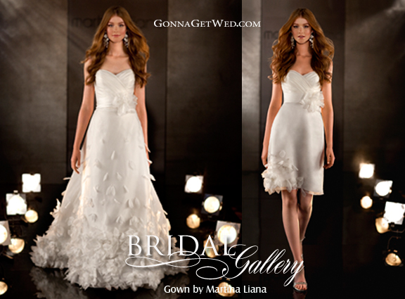 The Convertible Wedding GownA Two Dress Trend